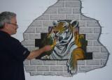 Tiger Wallpainting - Tiger Wandtattoo